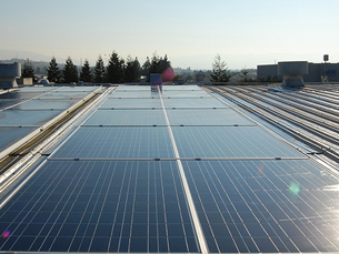 """O projeto """"Solar Runways"""" pretende incorporar painéis solares nas estradas Foto: DR"""