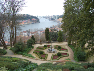 Os jardins do Palácio de Cristal vão ser o fundo das fotografias dos participantes do Instameet Porto Foto: JPN