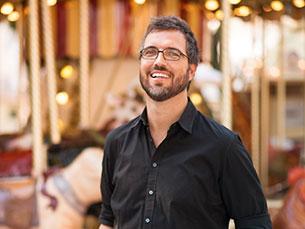 """Pedro Chagas Freitas é o autor de um dos livros mais vendido em Portugal, em 2014. O romance """"Prometo falhar"""" já vendeu mais de 60 mil exemplares Foto: Magma"""