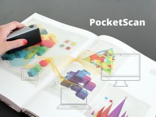 O PocketScan funciona sem fios e a comunicação é feita através de Bluetooth Foto: DR