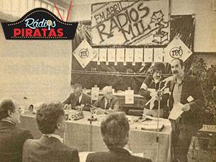 De acordo com António Colaço, os encontros das Rádios Livres foram importantes para a legalização Foto: DR