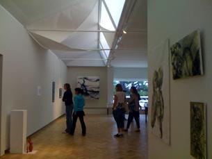 A exposição, composta por trabalhos dos alunos, pode ser visitada até 31 de outubro Foto: DR