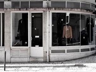 O espaço onde está instalada a loja é uma antiga mercearia, no número 253 da Rua do Rosário, no Porto Foto: DR
