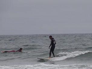O surf é um dos desportos aquáticos mais relevantes em Portugal Foto: Francisca Ramos
