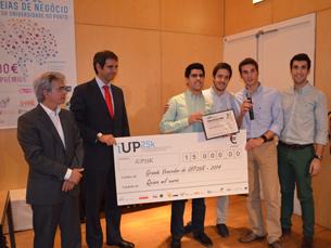 Os vencedores ganharam 15 mil euros Foto: Ricardo Lima