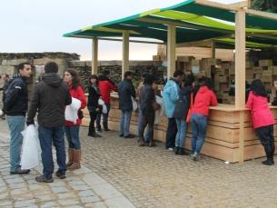 O Wine Bar dos Douro Boys atraiu mais visitantes do que o esperado Fotos: Simão Freitas, Telma Parada