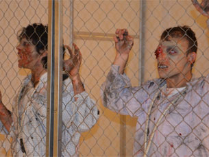"""A caracterização de personagens de """"Walking Dead"""" foi um dos principais destaques de cosplay na Comic Con Foto: Joana Amorim"""