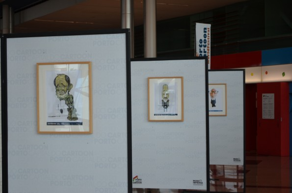 O arquiteto é o autor do troféu do PortoCartoon.