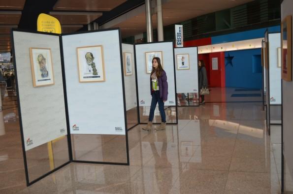A exposição está aberta ao público.