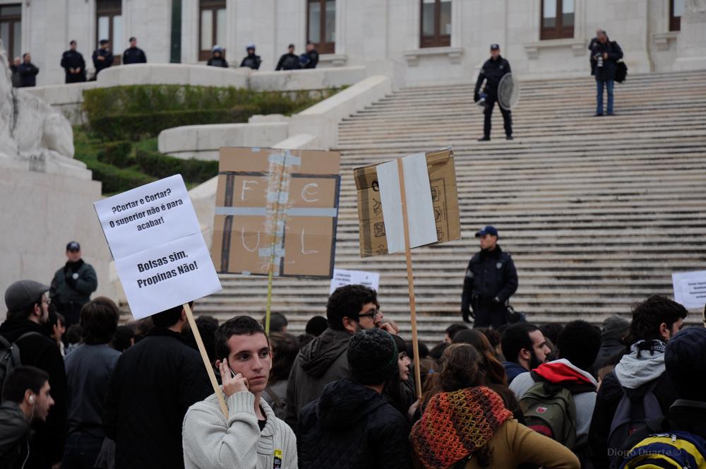 Manifestação Parlamento