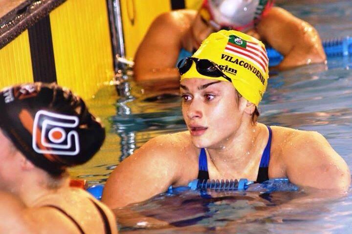 Catarina Monteiro garante os mínimos nos 200 metros mariposa para os Mundiais Kazan2015, com a marca de 2.11,43 minutos.