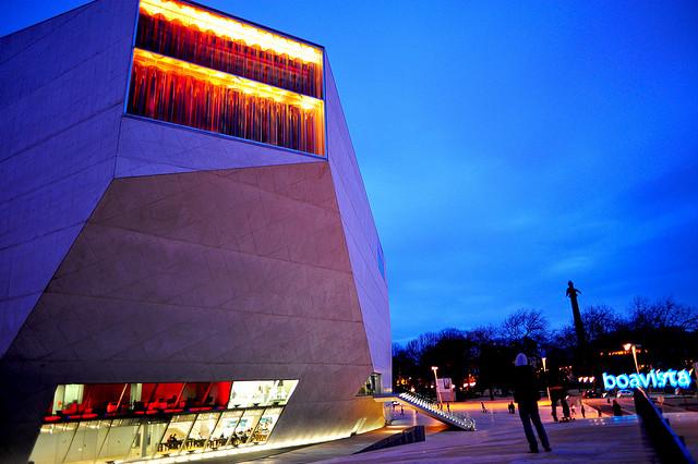 Casa da Música à noite