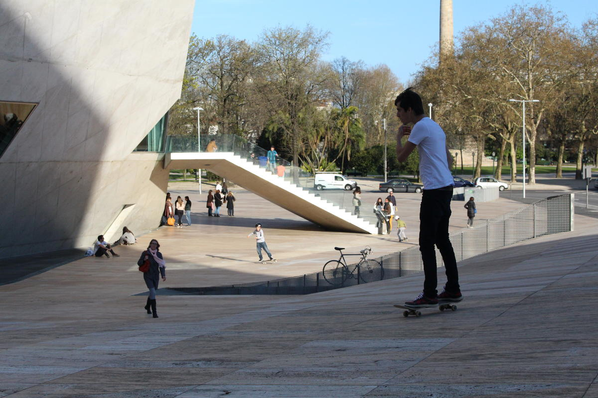 Skaters Casa da Música