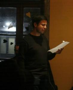 """Vitor Carvalhais, um dos poetas convidados da iniciativa """"Poeta que sou"""""""