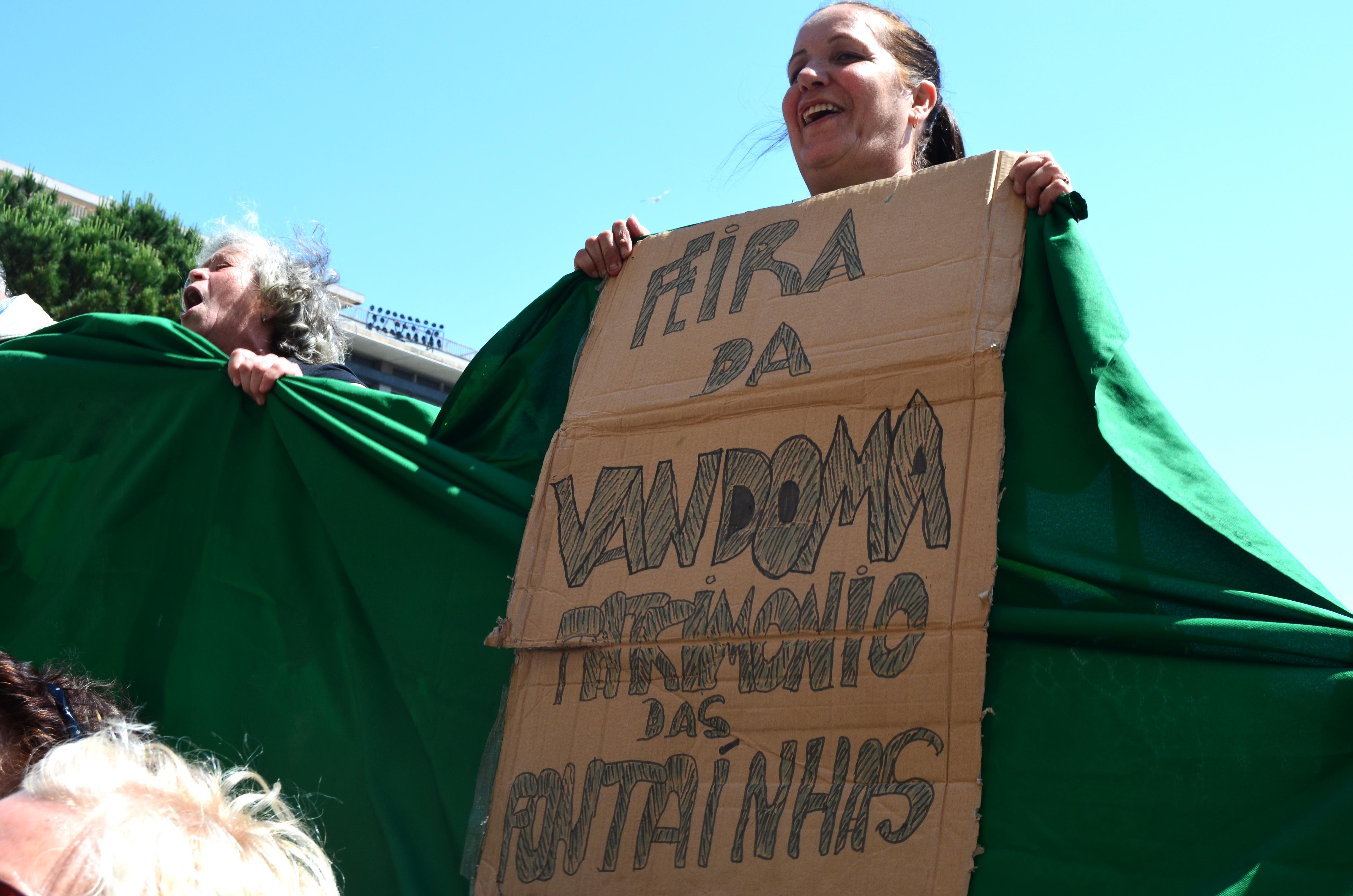 Protesto Feira da Vandoma