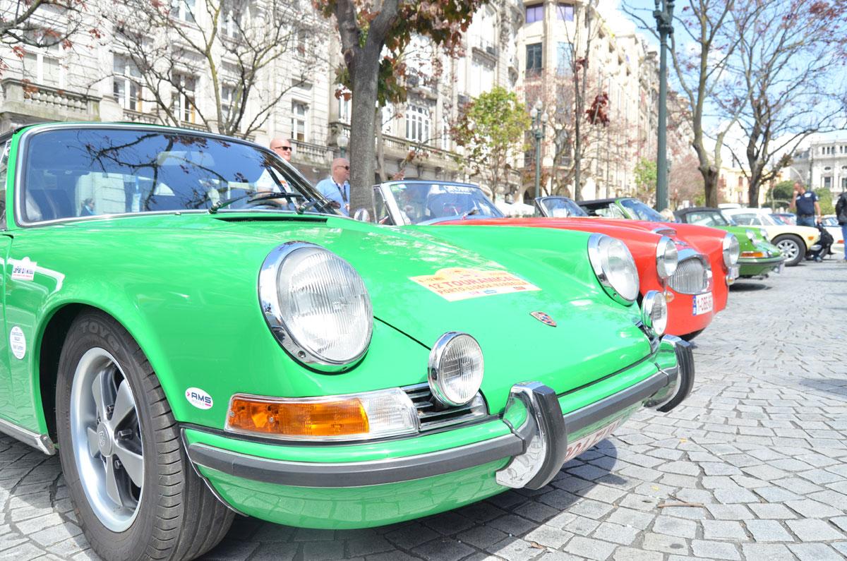 Concentração de carros clássicos