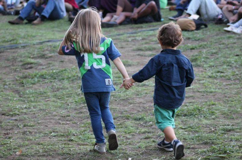 Crianças festival
