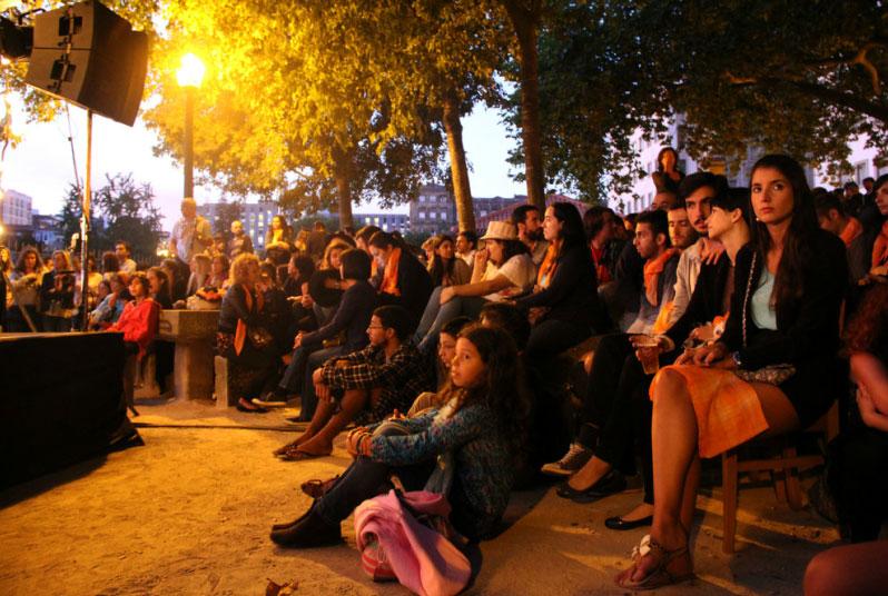 Público em concerto