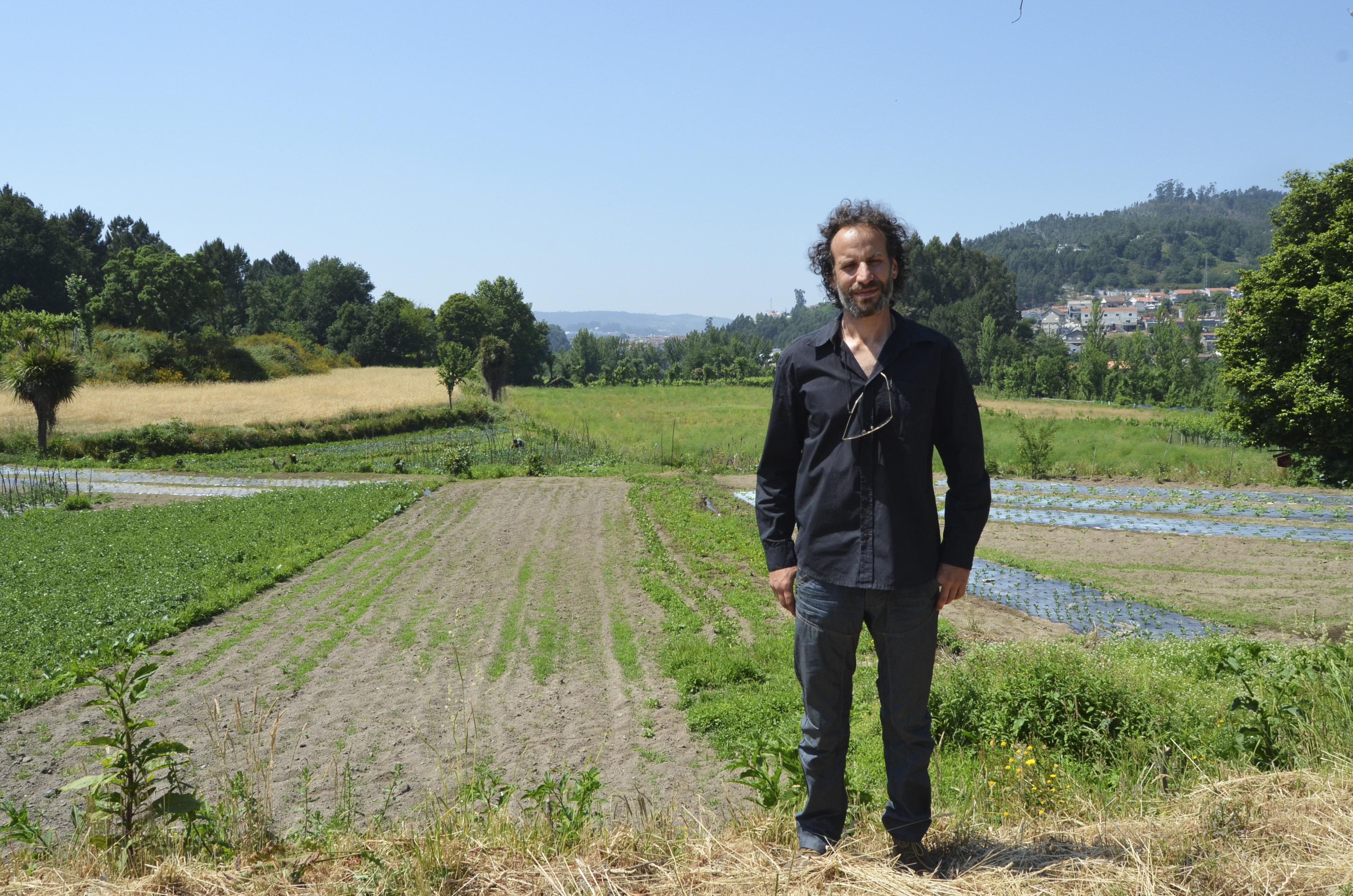 A Quinta de Silvares, em Vizela, distribui cabazes com produtos biológicos