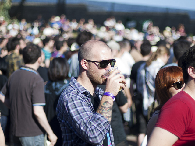 Público em festival