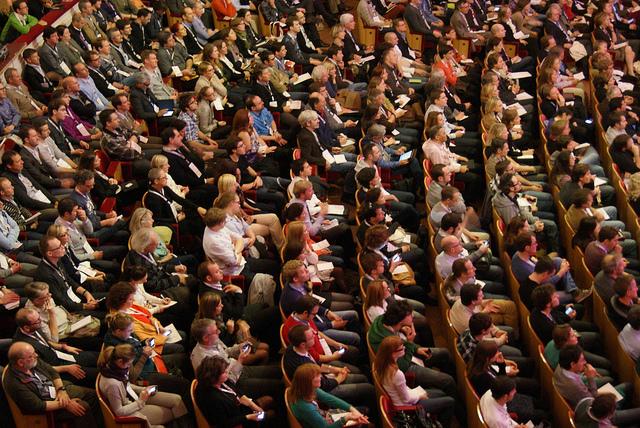 Plateia de conferência