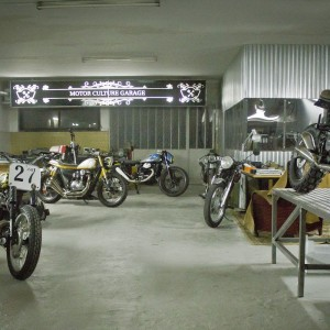 Ton-up garage