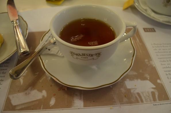 Serviço do chá das 5
