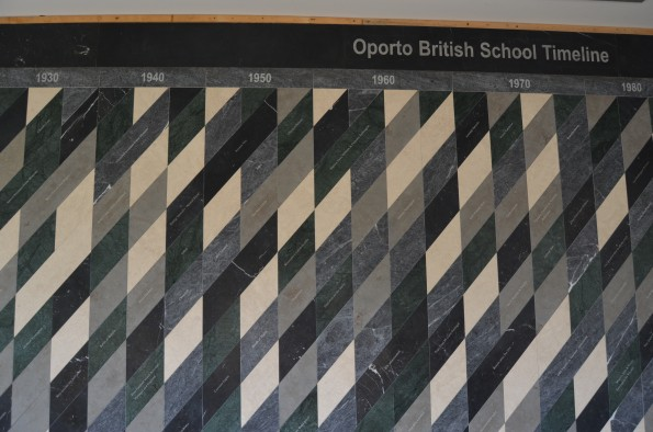 Timeline na Oporto British School