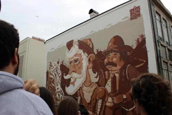 Mural da Rua Diogo Brandão