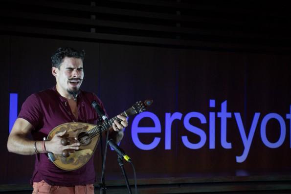 Luís Pinto e o seu bandolim