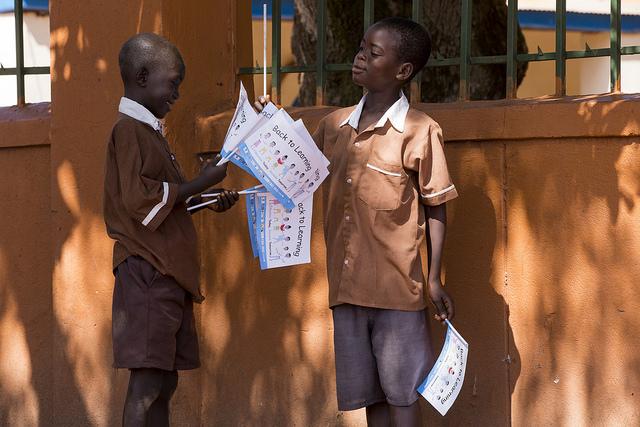 """Membros do projeto """"Gritah"""" partiram no domingo dia 8 de novembro para a Guiné Bissau para ajudar"""