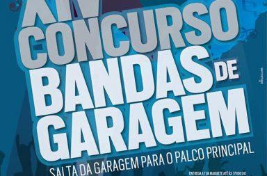 As inscrições para o XIV Concurso de Bandas de Garagem decorrem até 19 de fevereiro