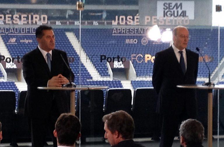 José Peseiro foi apresentado esta sexta-feira no Estádio do Dragão