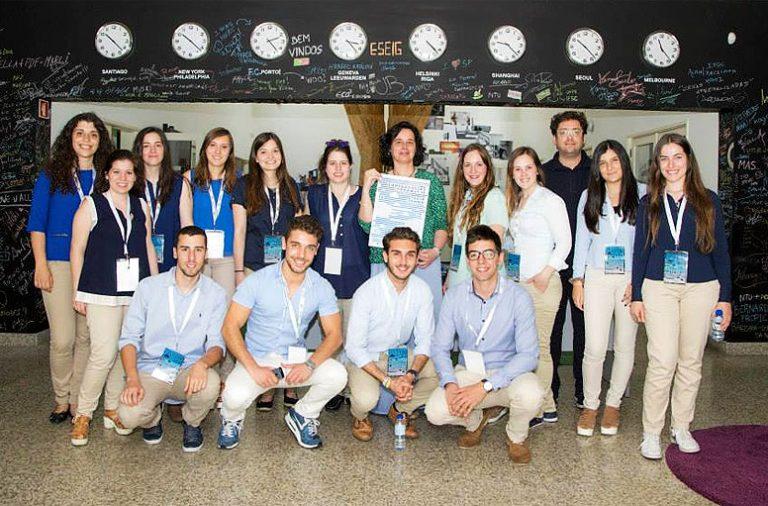 A Olímpia Junior Consulting está registada desde novembro e quer prestar serviços de comunicação e marketing