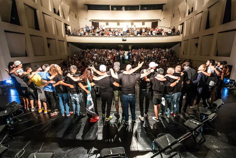 A iniciativa OUPA! Cerco subiu ao palco do Rivoli em julho