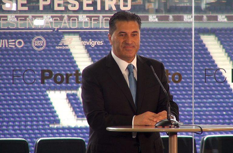 José Peseiro mostrou-se ambicioso na sua apresentação como novo treinador do FC Porto