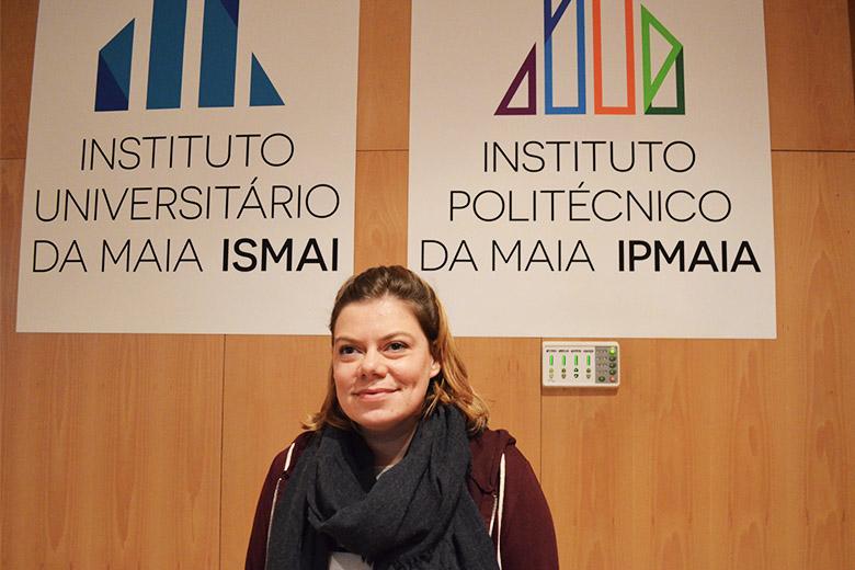 """A """"rapper"""" portuense Capicua foi a cabeça de cartaz do evento do ISMAI"""