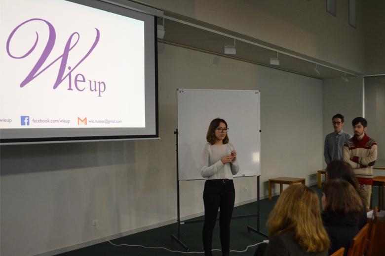 O evento foi organizado por Carolina Jorge, aluna da FEUP