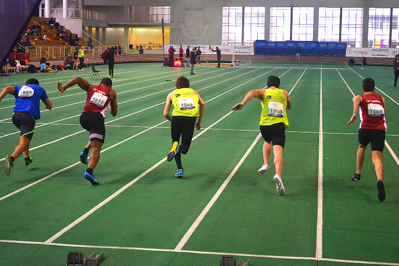 Dois atletas da UP na primeira eliminatórias dos 60 metros planos