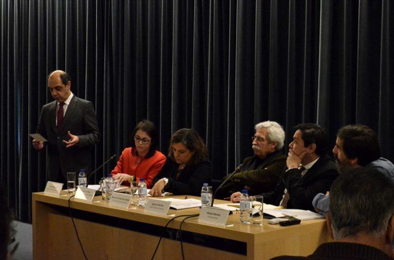 Manuel Pizarro, vereador da Habitação e Coesão Social da CMP, deu início ao debate