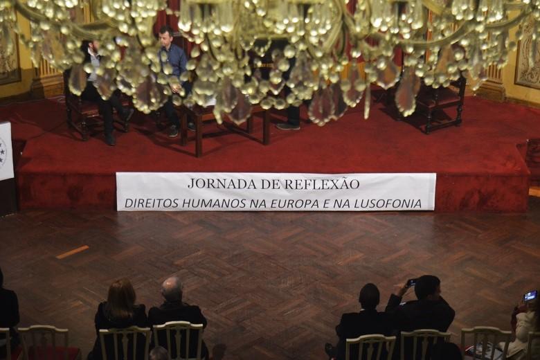 """As """"Jornadas de Reflexão: Direitos Humanos na Europa e na Lusofonia"""" aconteceram no Ateneu Comercial do Porto"""