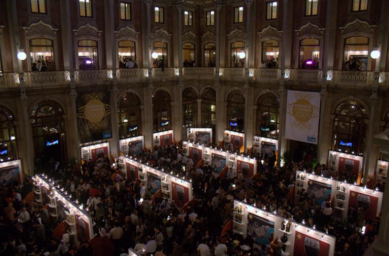 Todos os anos o Palácio da Bolsa recebe um dos mais conceituados eventos enogastronómicos em Portugal