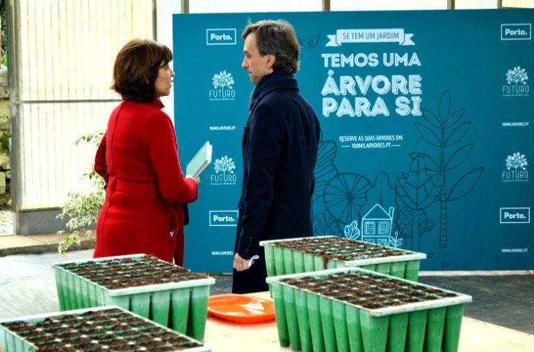 A meta da iniciativa da autarquia é, no prazo de cinco anos, plantar 10 mil árvores na cidade
