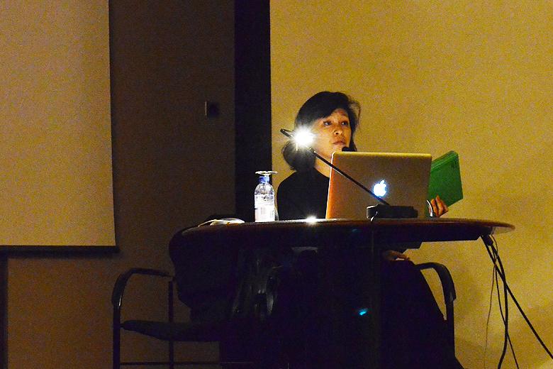 Haegue Yang esteve na quarta-feira na Faculdade de Belas Artes da Universidade do Porto para falar sobre a arte