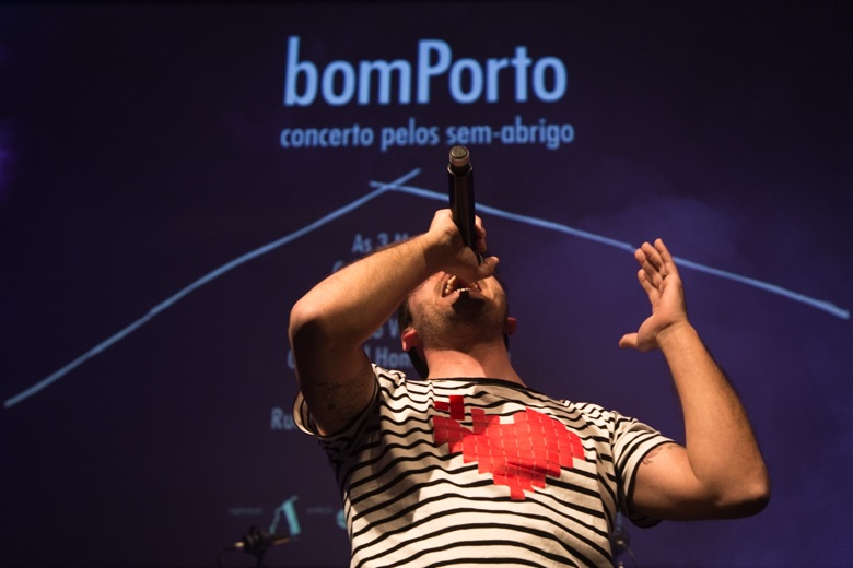 """O """"bomPorto - concerto solidário pelos sem-abrigo"""" teve a casa cheia"""