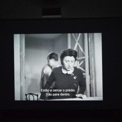 """Cena do filme """"Roma, Cidade Aberta"""", com a personagem Pina."""