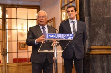 A TAP é o assunto central da reunião entre António Costa e Rui Moreira