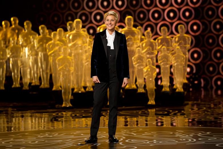Ellen Degeneres apresentou os Óscares em 2014.