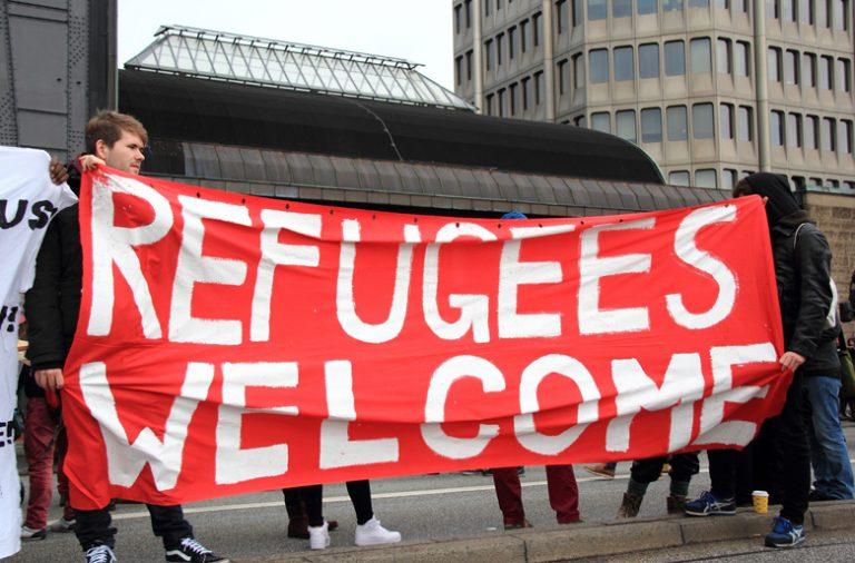 O número de refugiados que deram entrada na Europa em 2015 mais de um milhão de refugiados