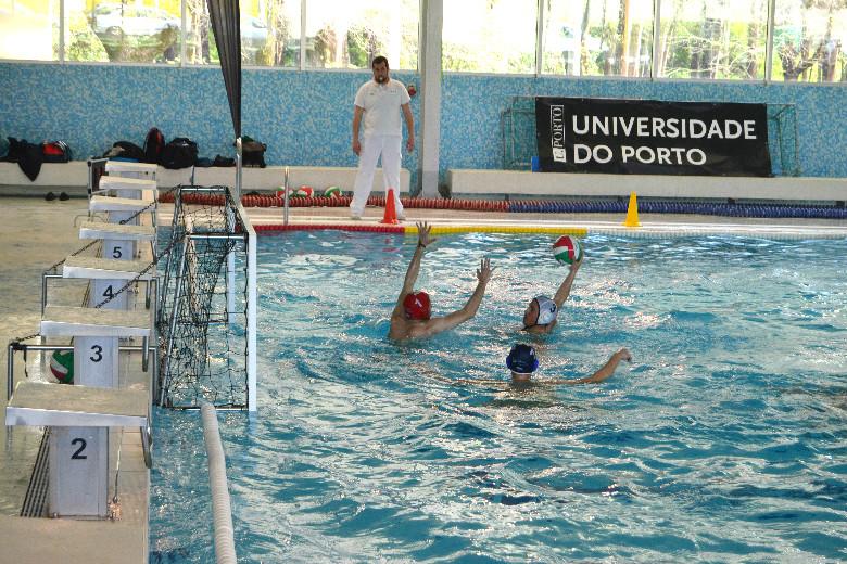 A final dos Campeonatos Universitários contou com a equipa da Universidade de Aveiro, do Minho e do Porto